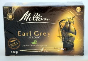 Milton Earl Grey Strong 80 torebek 120g